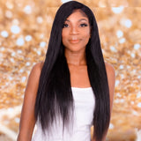 Silky Straight Lace Frontal Wig