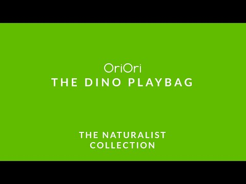 Load and play video in Gallery viewer, The Dino T-Shirt – PlayBag<br/>Naturalist Collection