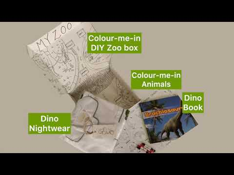 Load and play video in Gallery viewer, Dino – SleepBox, Naturalist Collection