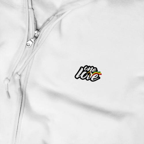 Printify Sweat - Veste (zip) L / Blanc Sweat Reggae Unisexe (zip)