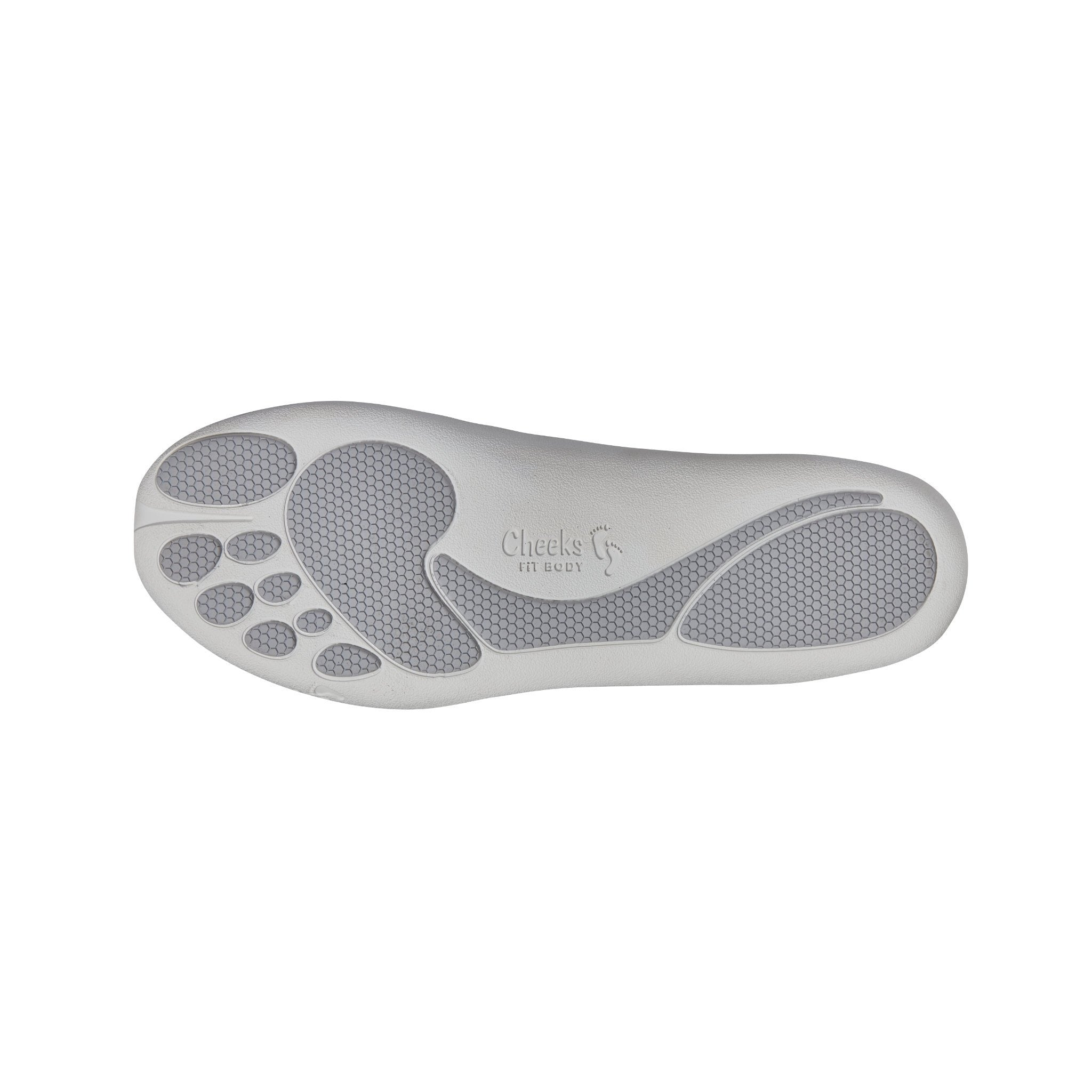 Cheeks women's Grey Barefoot Ballerinas