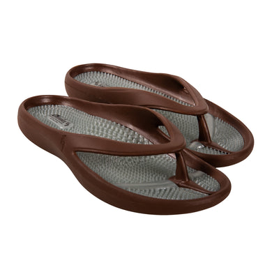 Cheeks women's Brown Massage Sandals