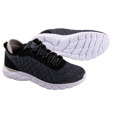 Cheeks women's Black Multisport Gel Trainers