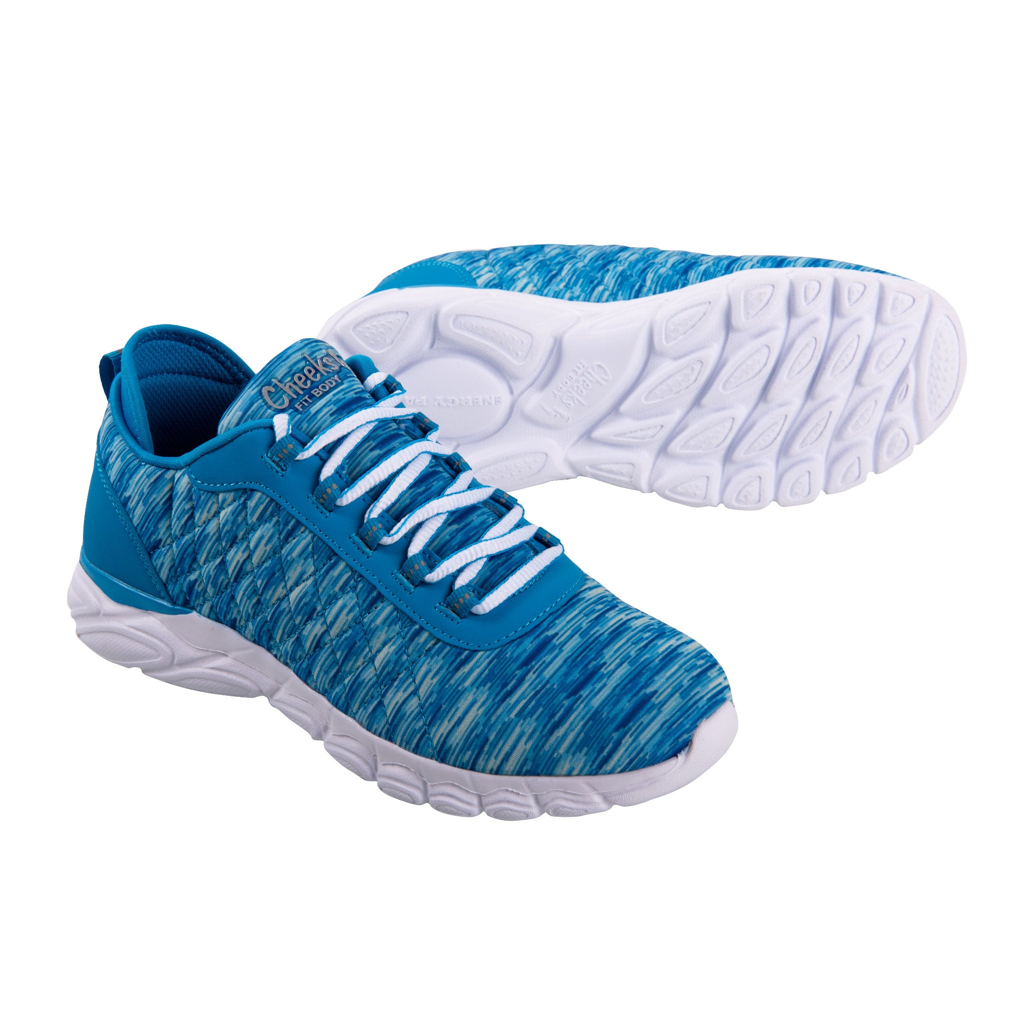 Cheeks women's Blue Multisport Gel Trainers