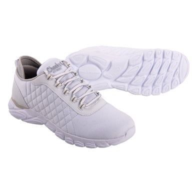 Cheeks women's White Multisport Gel Trainers