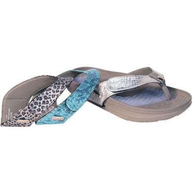 Cheeks women's Grey Bandals