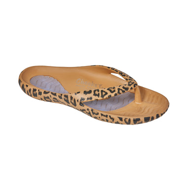 Cheeks women's Natural Leopard Health Sandals
