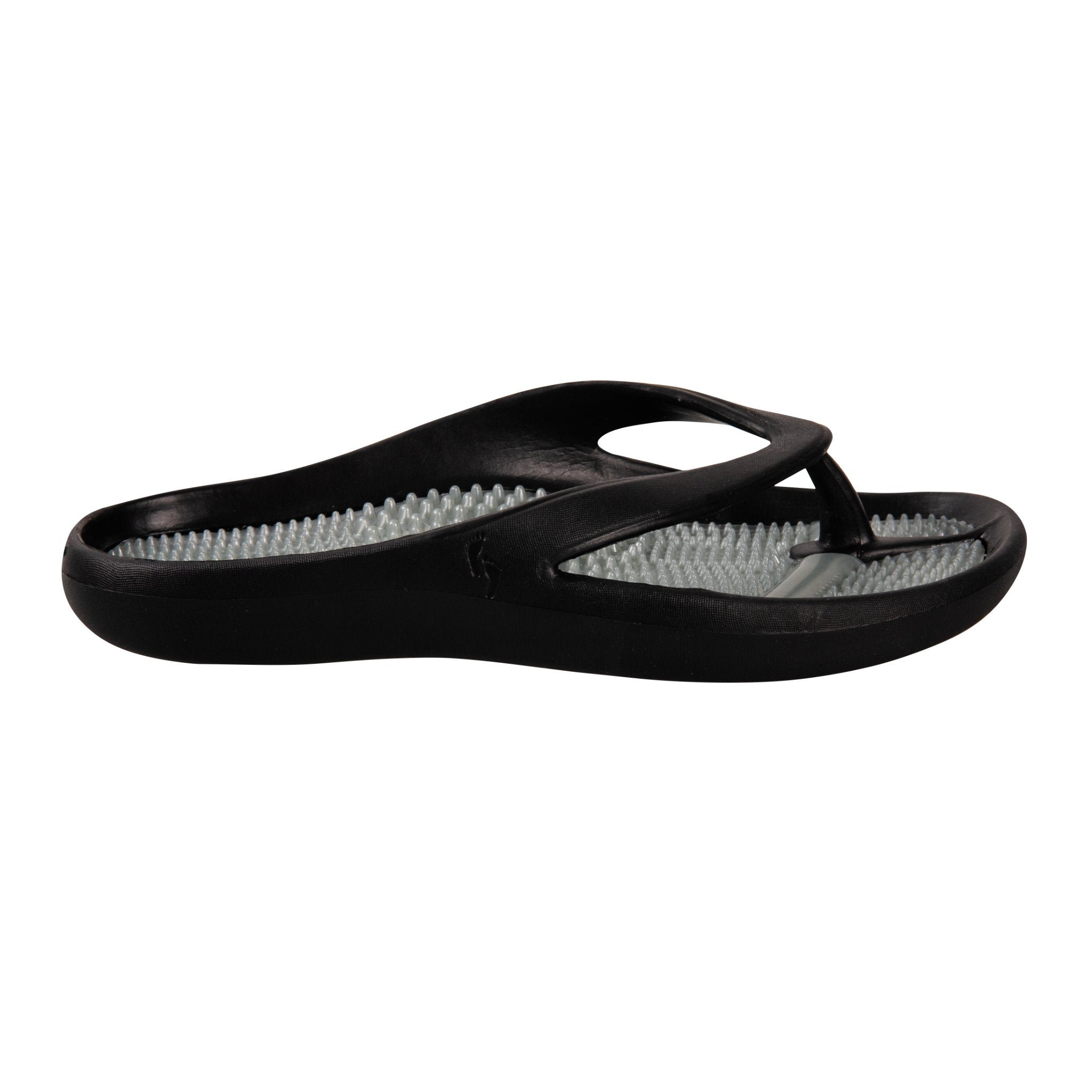 Cheeks women's Black Massage Sandals