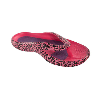 Cheeks women's Pink Leopard Health Sandals
