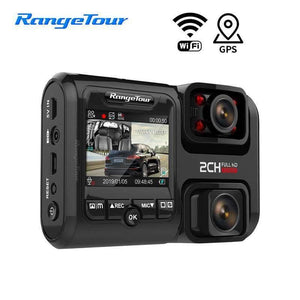 4K 2880*2160P Car DVR D30H Dash Camera WiFi GPS Front and Cabin Both Full HD 1080P 4 IR G-Sensor Night version Car Cam Recorder Range Tour Official Store