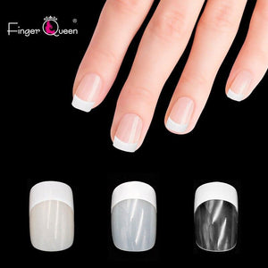 500pcs Long Ballerina Full Half French Acrylic Nail Fingerqueen Official Store
