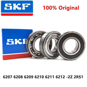 2pcs original sweden SKF high speed bearing 6207 6208 6209 6210 6211 6212 -2Z 2RS1 ZZ RS H C3 open deep groove ball bearings
