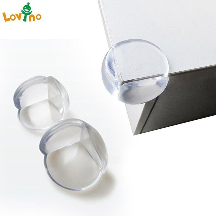 Lovyno 5/8/10Pcs Child Baby Safety Silicone Protector Table Corner Edge Protection Cover Children Anticollision Edge & Guards ECMLN Mother & Baby Store