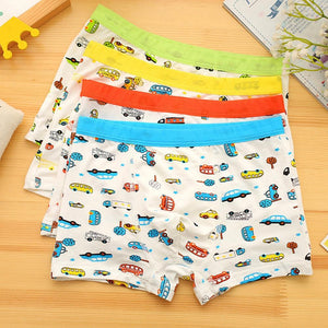 New Arrival 3-8Y Boys Cotton Underpants Briefs Underwears Panties Infant Boxer Briefs Cartoon Cute Panties Male Under Wear Brief Babywell Store