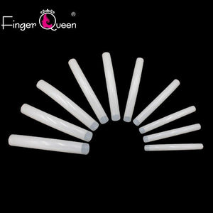 500pcs Long Ballerina Fake Nails Full/Half French Fingerqueen Official Store