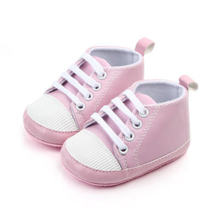 Baby Shoes Toddler Soft Bottom Shoes Baby Girl Boys Solid Color First Walkers Shoes Non-slip Cute Spring&Autumn New JeanDan Store-ufza Store