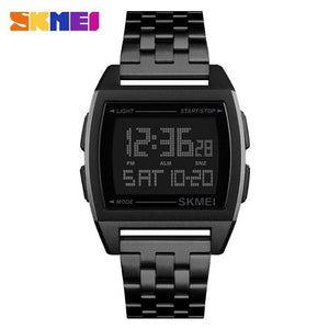 Military Sports Watches LED Digital Electronic Watch Waterproof Skmei Direct Selling Store black