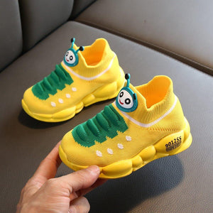 Kids Shoes Girls Boys Sport Stretch Mesh Children Cartoon Infant Girls Flat Shoes Baby Running Kids Sneakers Zapatillas #YL1 Sunbella Store