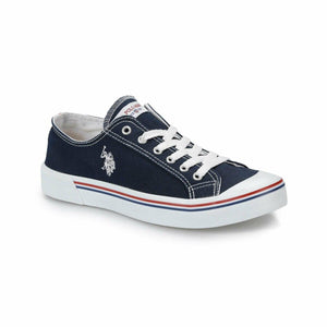 Burgundy Men 'S Sneaker U.S. POLO ASSN. Flo Shoes Official Store Navy 40