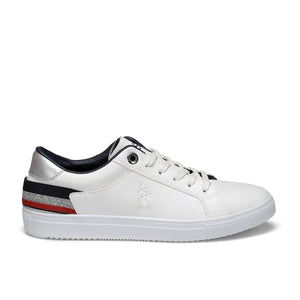 White Women's Sneakers Shoes Women Flats 2020 Fashion Women Casual Shoes Loafers Flats Shoes U.S. POLO ASSN. TORY Flo Shoes Official Store