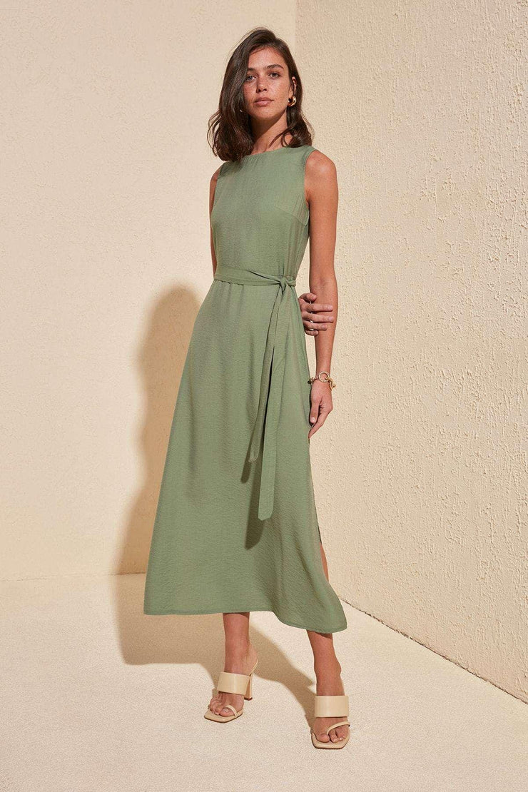 Belted Dress Trendyol Women's Store