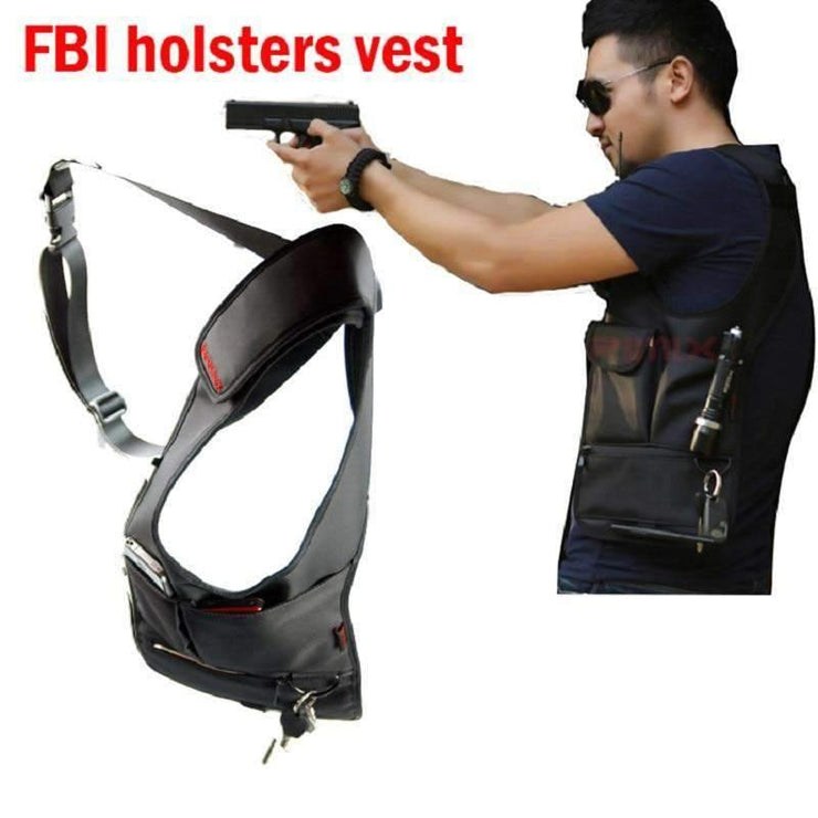 FBI agents backpack stealth voodoo tactical uk backpack sog tactical bags theftproof armpit bag clothing Black molle pouches TONFLAT YATTI Store