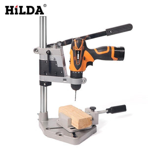HILDA Dremel Style Drill Stand Power Tools Accessories Bench Drill Press Stand DIY Tool Base Frame Drill Holder Drill Chuck HILDA Official Store