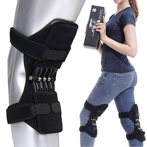 knee brace support Knee Protector Rebound Power leg Knee Pads booster brace Joint support stabilizer Spring Force FS YURI YUAN Outdoor Store