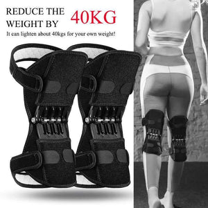 Knee Protector Joint Support Knee Pads Breathable Non-Slip Power Lift Knee Pads Rebound Spring Force Knee Booster Tendon Brace FS YURI YUAN Outdoor Store