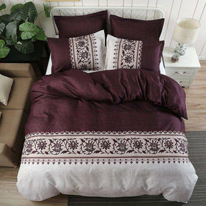 Simple Luxury King Size Bedding Set Floral Printed Duvet Cover Sets Bed Linen Quilt Covers Single Queen BedClothes(No Bed Sheet) Dream-Karin Textile Store