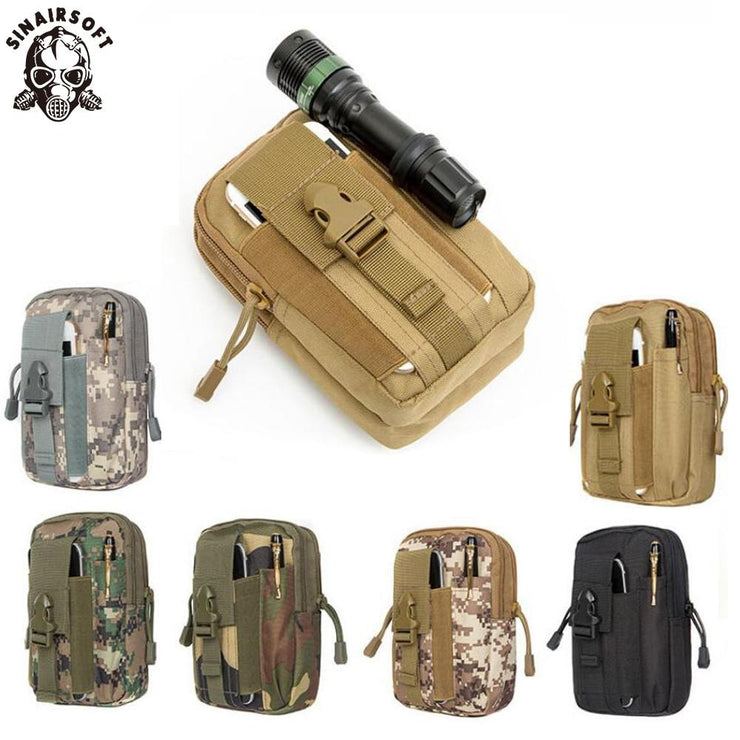 Tactical Pouch Molle Hunting Bags Belt Waist Bag Military Tactical Pack Outdoor Pouches Case Pocket Camo Sport Bag For Iphone SINAIRSOFT Official Store