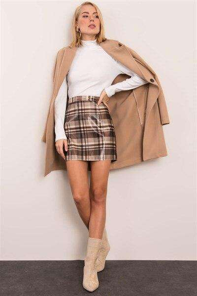 Tight Mini Skirt Women Clothing Women Dress Turkish Clothes for Woman-Spring 2020 Defile Store
