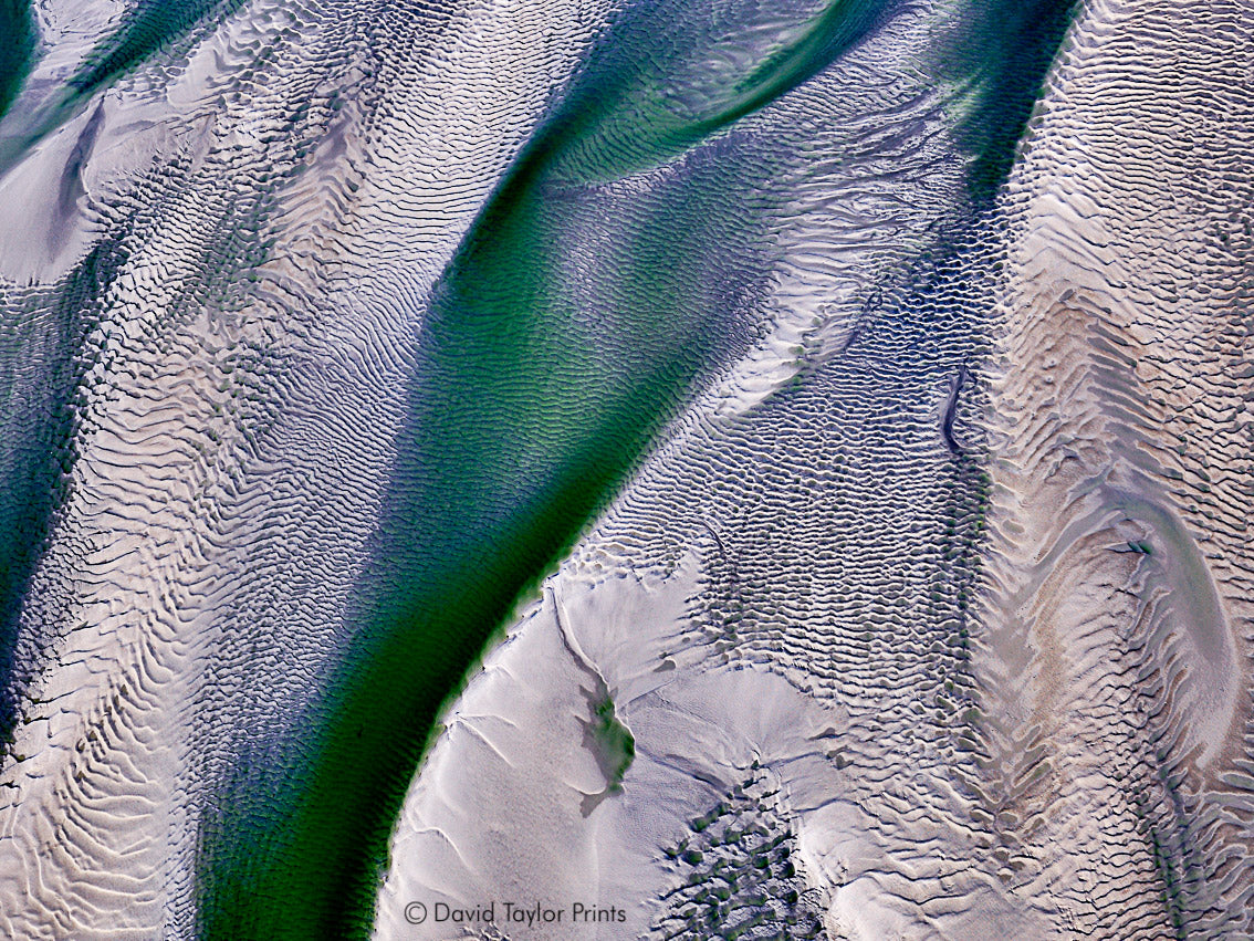 Abstract Aerial Landscape Photo Print of Cape Leveque Australia by David Taylor