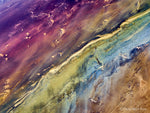 Load image into Gallery viewer, Abstract Aerial Landscape Photo Print of Lake Eyre Australia by David Taylor