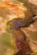 Load image into Gallery viewer, Abstract Aerial Landscape Photo Print of Lake Hume Australia by David Taylor