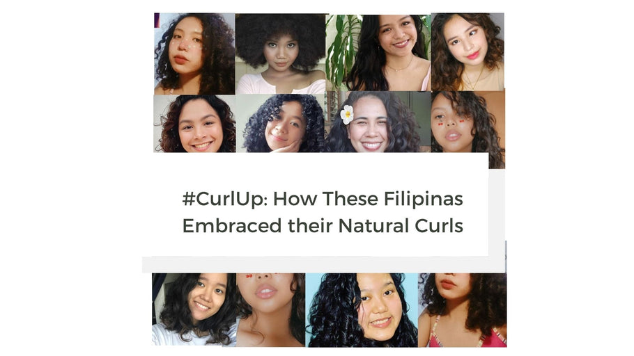 #CurlUp: Filipinas before and after embracing their curly hair