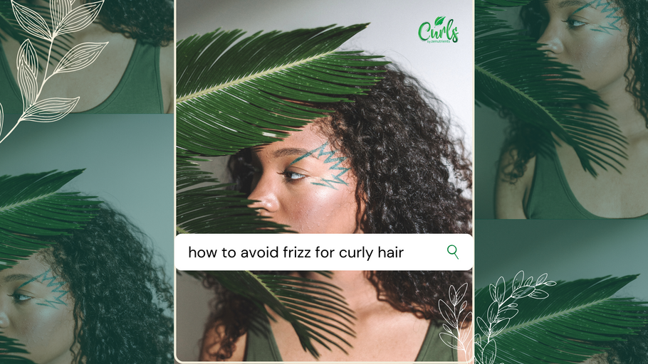 Tips to Avoid Frizz for Curly Hair