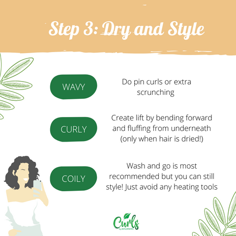 How to dry and style hair CGM