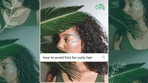 how to avoid frizz for curly hair