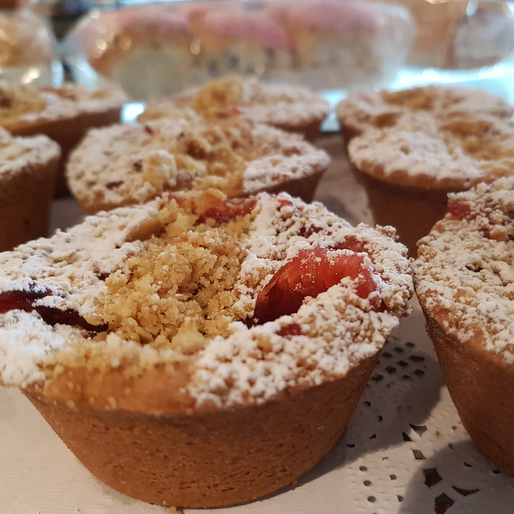Rhubarb & Apple Crumble -  crumble, Fruit Pies, Sweet Treat