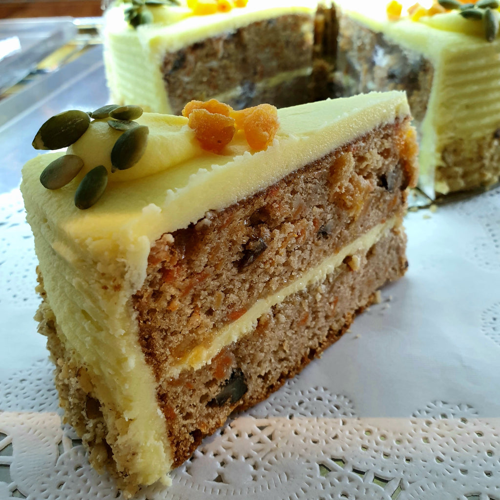 Carrot Cake (Slice) -  carrot, Specialties, Sweet Treat