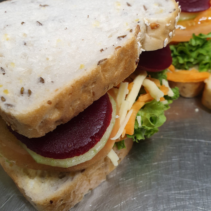 "Vegetarian Dagwood - 7"" - sandwiches, vegetarian"