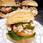 Chicken Pesto Roll -