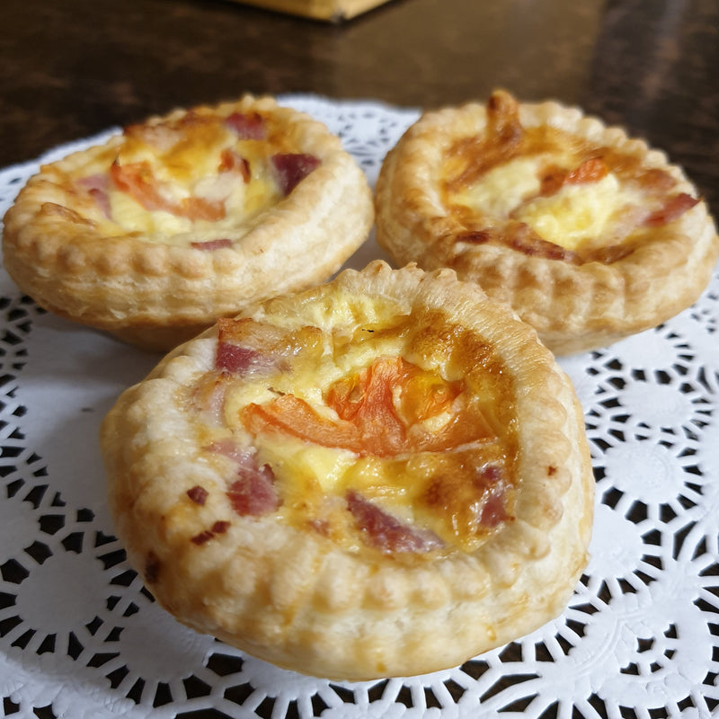 Open Mini Quiche Savouries - Hot - Quiche, savoury