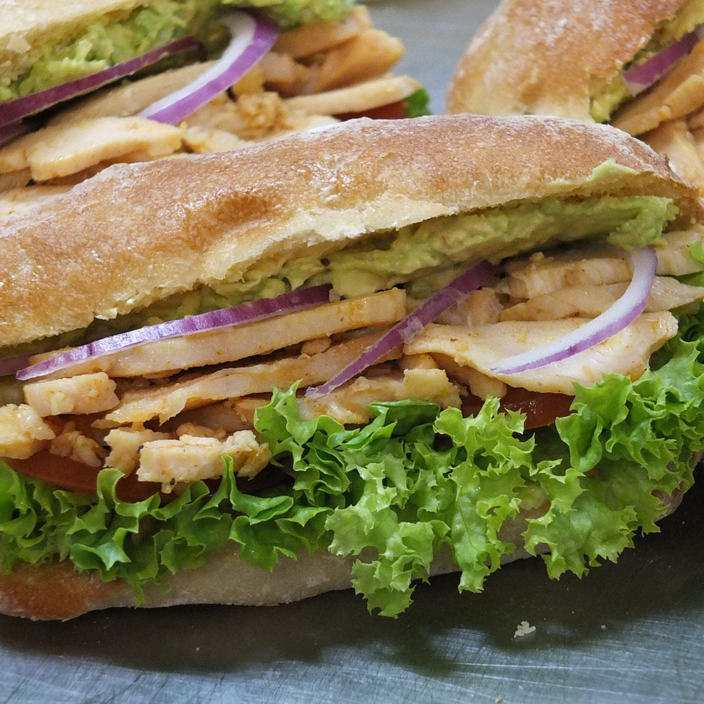 Chicken Roll -  chicken, roll, sandwiches