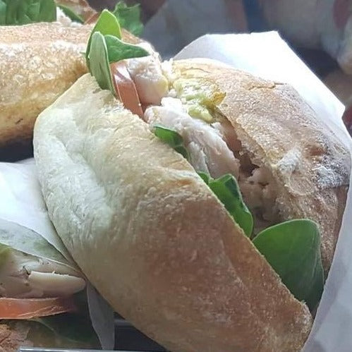 Chicken Pesto Roll -  chicken, sandwiches