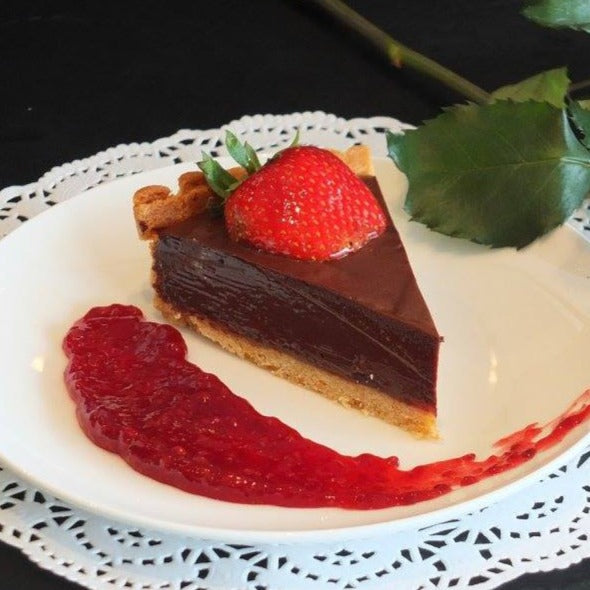 Slice of Chocolate Torte