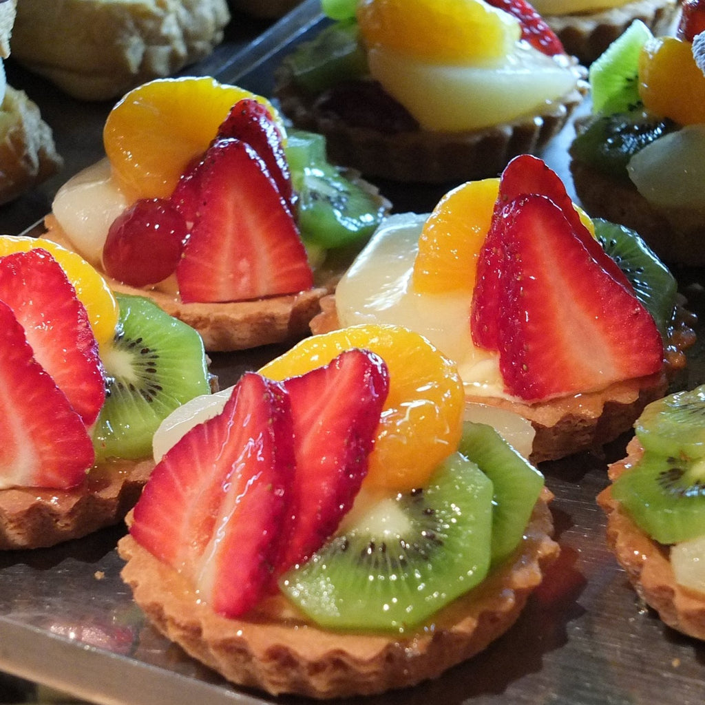Fruit Flan -  Cream Cakes, Sweet Treat