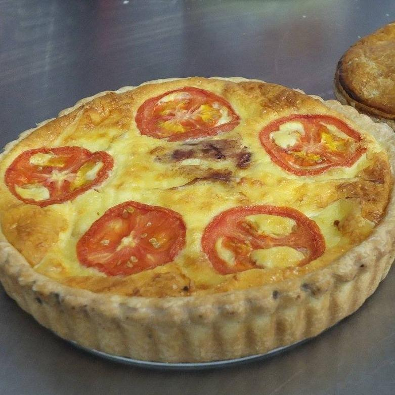 Family Quiche - Chicken Brie & Spiced Plum -