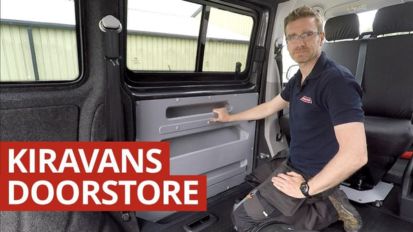 Video: Kiravans VW T5/T6 Door Store